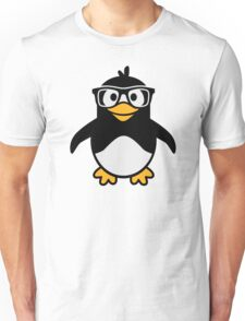 Penguin glasses Unisex T-Shirt