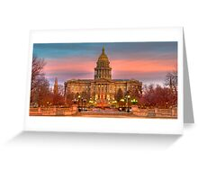 Colorado Capital Greeting Card