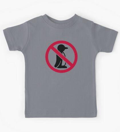 No penguin Kids Tee