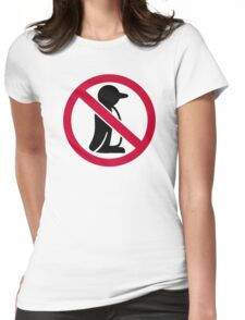 No penguin Womens Fitted T-Shirt