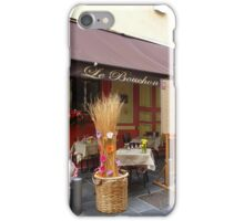 Dining In The Old Part of Nice iPhone Case/Skin
