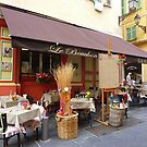 Dining In The Old Part of Nice by Fara