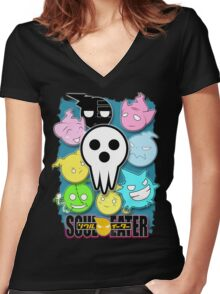 Soul Eater Women's Fitted V-Neck T-Shirt