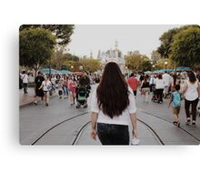 Disneyland Day Dream Canvas Print