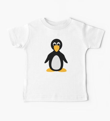Comic penguin Baby Tee