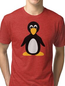 Comic penguin Tri-blend T-Shirt