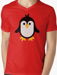 Funny penguin Mens V-Neck T-Shirt
