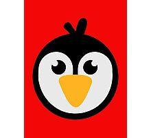 Penguin head Photographic Print