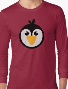 Penguin head Long Sleeve T-Shirt