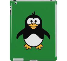 Comic penguin iPad Case/Skin
