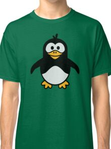 Comic penguin Classic T-Shirt