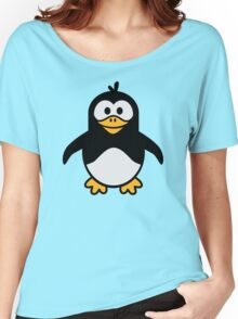 Comic penguin Women's Relaxed Fit T-Shirt