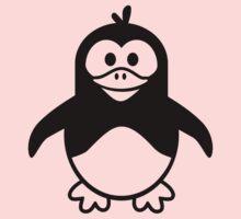 Black penguin Kids Tee