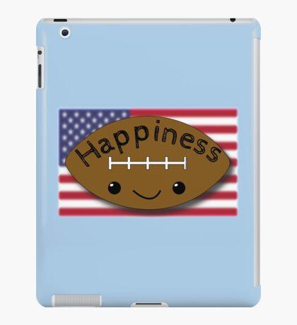 Happiness - Football iPad Case/Skin
