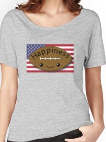 Happiness - Football Women's Relaxed Fit T-Shirt
