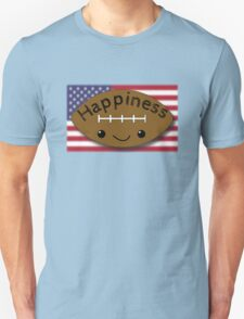 Happiness - Football T-Shirt