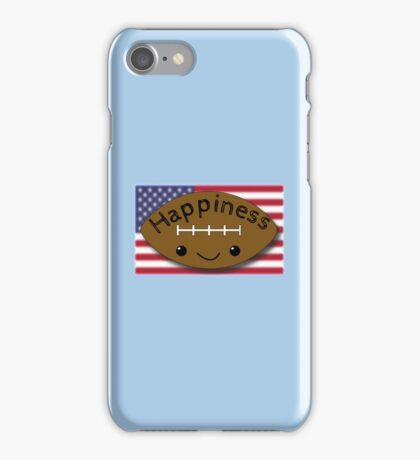 Happiness - Football iPhone Case/Skin