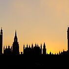 Westminster Sunset by Lea Valley Photographic
