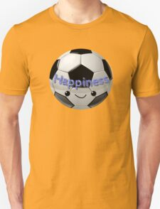 Happiness - Football (soccer) Unisex T-Shirt