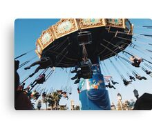 California Adventure's Symphony Swings Canvas Print