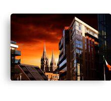Sunset In Cork Canvas Print