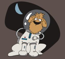 Dog in space. Baby Tee