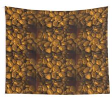 Golden stones Wall Tapestry