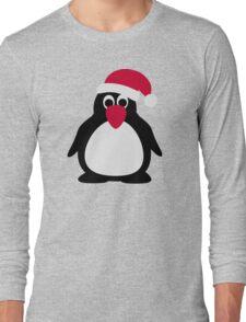 Santa penguin Long Sleeve T-Shirt
