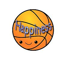 Happiness - Basketball Photographic Print