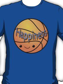 Happiness - Basketball T-Shirt