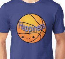 Happiness - Basketball Unisex T-Shirt