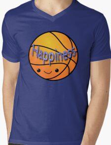 Happiness - Basketball Mens V-Neck T-Shirt
