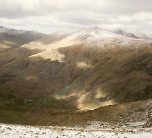 Snowdon at Easter 9 by Frederick Wood