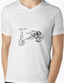 Tricycle Impossibile Mens V-Neck T-Shirt