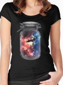 Found in Space Women's Fitted Scoop T-Shirt