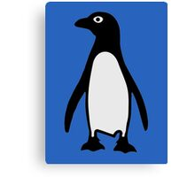 Penguin bird Canvas Print