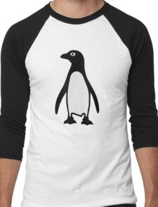 Penguin bird Men's Baseball ¾ T-Shirt