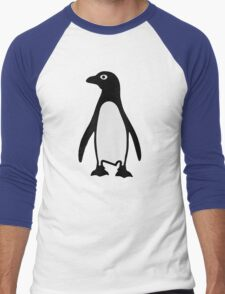 Penguin bird Men's Baseball ¾ T-Shirt