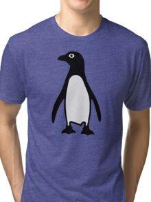 Penguin bird Tri-blend T-Shirt