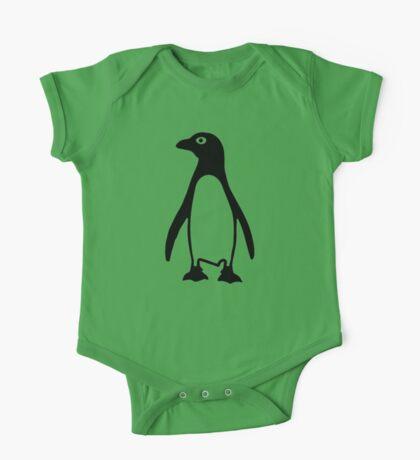 Black penguin One Piece - Short Sleeve