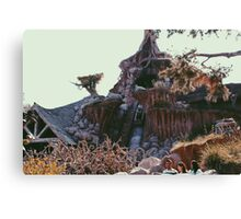Splash Mountain Canvas Print