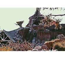 Splash Mountain Photographic Print