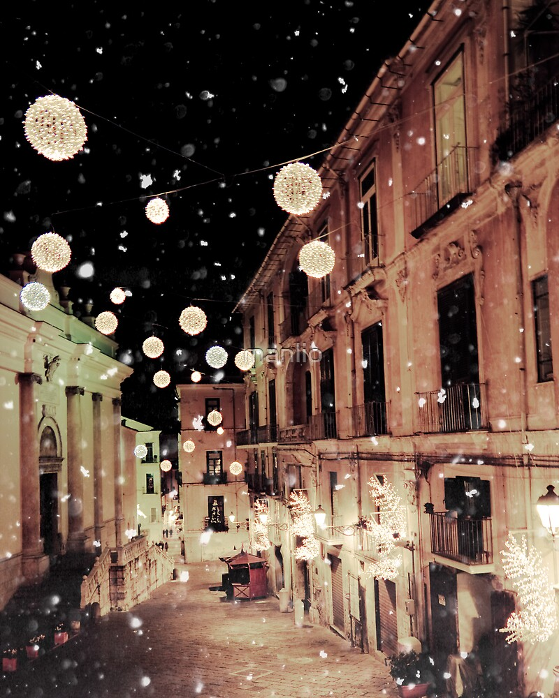 Salerno on Xmas Time by manlio