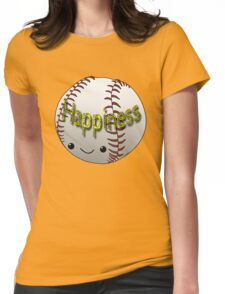 Happiness - Baseball Womens Fitted T-Shirt