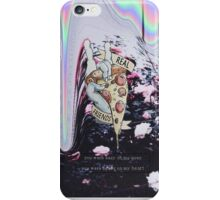 i miss you like the summer iPhone Case/Skin
