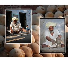 Master Potter Photographic Print