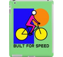 BUILT FOR SPEED-75 iPad Case/Skin