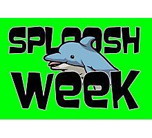 Sploosh Week Photographic Print