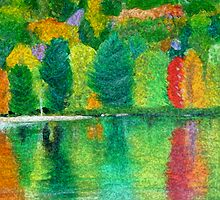 Autumn Reflections by Sebastian  McLaughlin