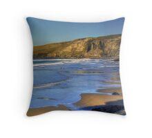 Trebarwith Strand Throw Pillow